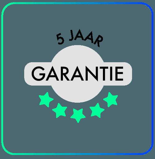 5 jaar garantie airconditioning