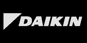logo daikin in het grijs