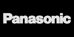 Panasonic logo in het grijs