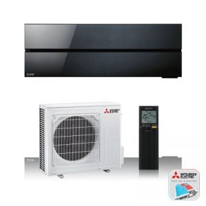 Mitsubishi Electric WSH-LN25i – Wand-unit – 2,5 kW – Onyx black
