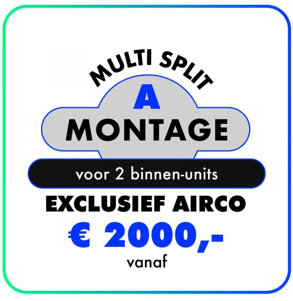 Montage-Multi-split-A-airconditioning-123klimaatshop.nl