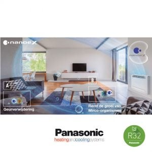 Panasonic KIT-Z25-UFE – Vloer-unit – 2,5 kW