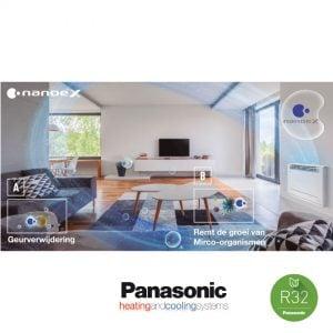Panasonic KIT-Z35-UFE – Vloer-unit – 3,5 kW