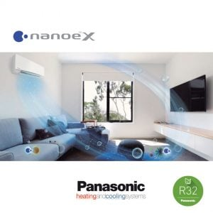 Panasonic KIT‐FZ50‐WKE – Wand-unit – 5,0 kW