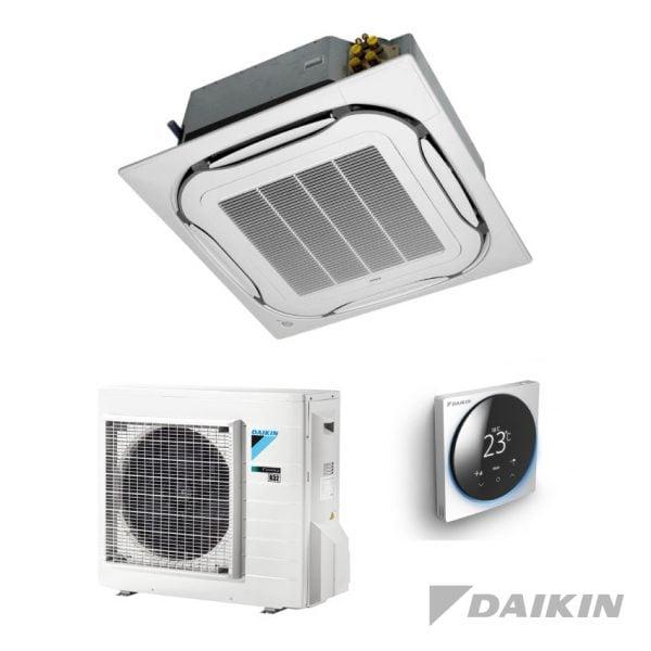 Daikin roundflow airco met bediening