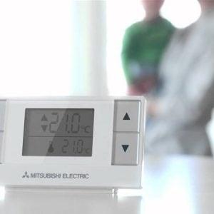 Draadloze thermostaat PAR-WT50R-E + Ontvanger PAR-WR51R-E – Mitsubishi Electric