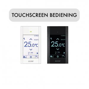 Touchscreen bediening PAR-CT01 MAA Mitsubishi Electric