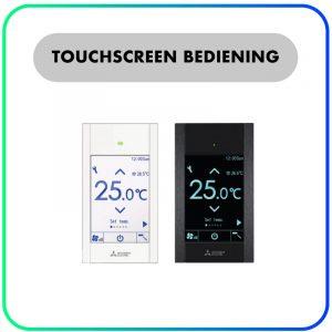 Touchscreen bediening PAR-CT01 MAA (SB/PB) – Mitsubishi Electric