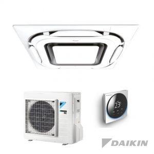 Daikin FCAG35B+RXM35N9 Cassette-unit – 3,5 kW – Designpaneel wit