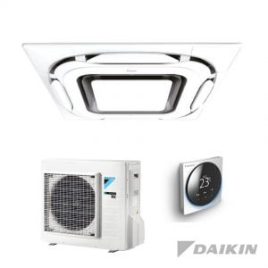 Daikin FCAG50B+RXM50N9 Cassette-unit – 5,0 kW – Designpaneel wit