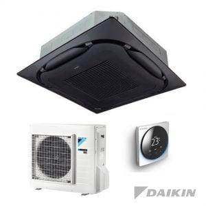 Daikin FCAG50B+RXM50R Cassette-unit – 5,0 kW – Zelfreinigend paneel zwart