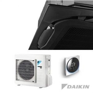 Daikin FCAG50B+RXM50R Cassette-unit – 5,0 kW – Standaardpaneel zwart