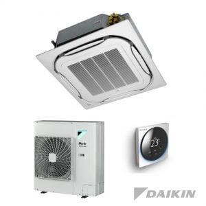 Daikin FCAHG71H+RZAG71NV/NY1 Cassette-unit – 7,1 kW – Standaardpaneel wit