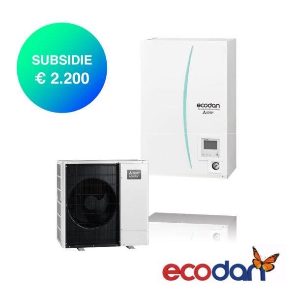 Mitsubishi Electric Ecodan Hydrobox warmtepomp