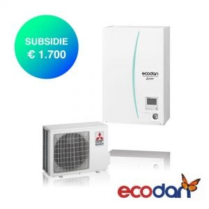 Mitsubishi Electric PHR50V met Hydrobox – Lucht-water warmtepomp – 5,0 kW