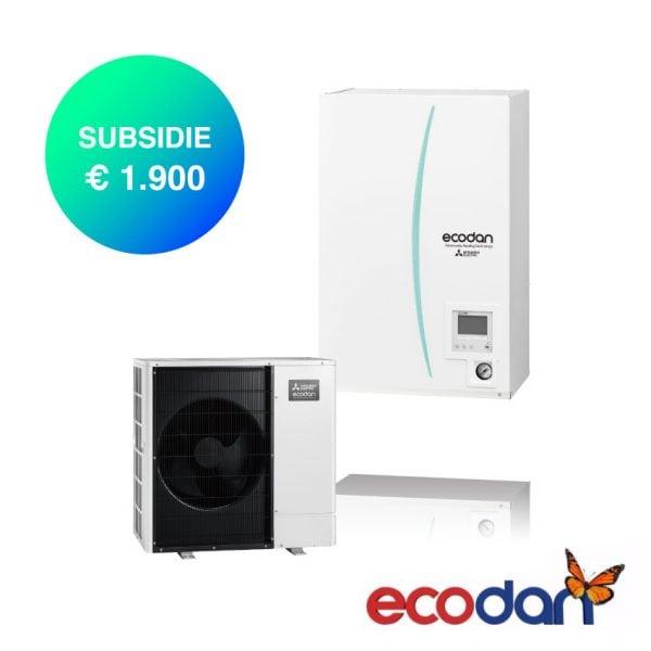 Ecodan Hydrobox warmtepomp