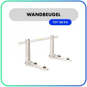 Rodigas Wandbeugel MS253 – inschuif rail 0,8m – 465mm – 100kg