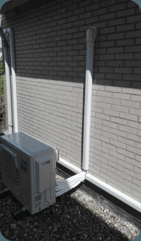 airco montage buitendeel 123klimaatshop