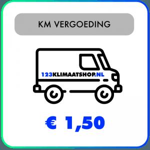 Extra kilometervergoeding