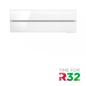 Mitsubishi Electric MSZ-LN25 VGV – Wand-unit – 2,5 kW – Pearl white – Exclusief buiten-unit