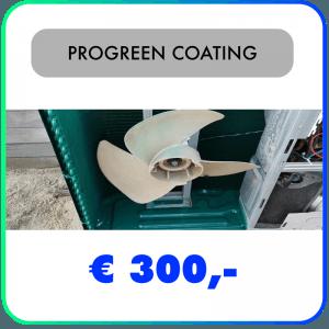 PROGREEN® H2O Coating – Oppervlaktebescherming voor buiten-units