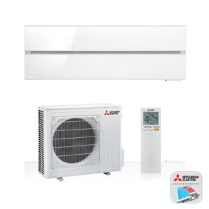 Mitsubishi Electric WSH-LN35i – Hyper heating – Wand-unit – 3,5 kW – Solid white