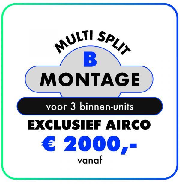Montage-Multi-split-B-airconditioning-123klimaatshop.nl