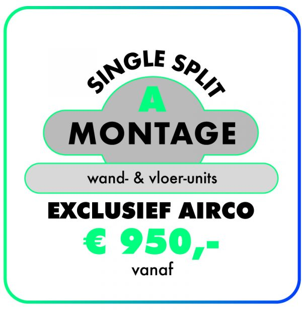 Montage-Single-split-airconditioning-123klimaatshop.nl