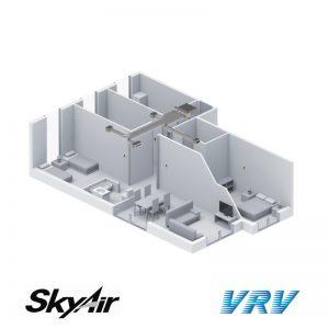 Airzone AZEZ6DAIS – Multizonekit – Plug&Play Plenum