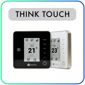 Think (touch) – Zonethermostaat AZCE6THINK (bedraad/draadloos) Airzone
