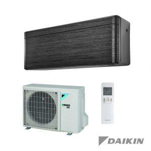 Daikin – Stylish – FTXA50BT+RXA50A – Wand-unit – 5,0 kW – Zwarthout