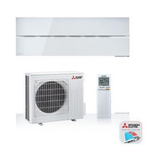 Mitsubishi Electric WSH-LN25i – Wand-unit – 2,5 kW – Solid white