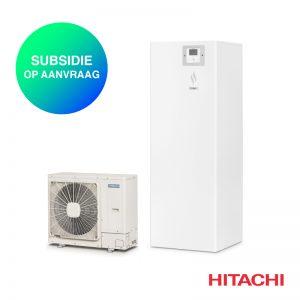 Hitachi – Yutaki S Combi – RWD-2.0NW(S)E + RAS-2WHVNRP – Lucht-water warmtepomp – 4,0 kW