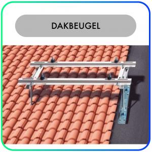 Rodigas Dakbeugel MT600 – RVS schuine dakconsole verstelbaar