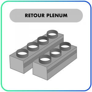 Retour plenum (aanzuig) – Inclusief filterluik – Op maat