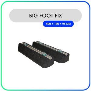 Big Foot Fix-it balken rubber – 400 x 180 x 95mm – 128kg (set van 2)