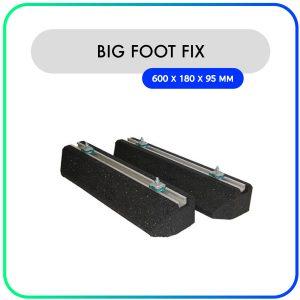 Big Foot Fix-it balken rubber – 600 x 180 x 95mm – 224kg (set van 2)