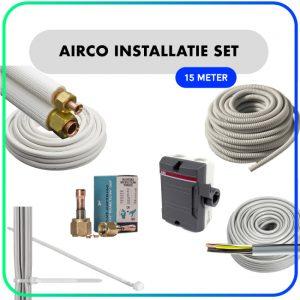 """Airco installatie set – 1/4"""" x 3/8"""" – 15 meter"""