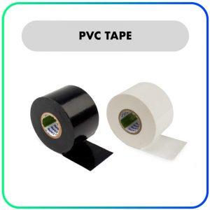 Nitto – PVC tape – Zwart/Wit – 20 meter