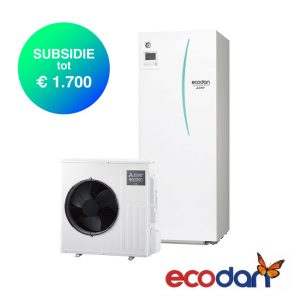 Mitsubishi Electric SCR-M80V-200D – Lucht-water warmtepomp – 8,0 kW