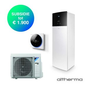 Daikin Altherma 3 – EHVX08S23E9W + ERGA06EV – Lucht-water warmtepomp – 6,0 kW
