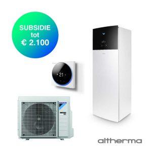 Daikin Altherma 3 – EHVX08S18E9W + ERGA08EV – Lucht-water warmtepomp – 8,0 kW