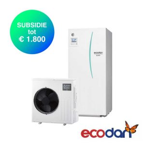 Mitsubishi Electric SCR-M40V-170D – Lucht-water warmtepomp – 4,0 kW