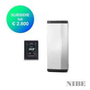 NIBE S-serie – S1155-6 PC – Water-water solo warmtepomp – 6,0 tot 8,0 kW