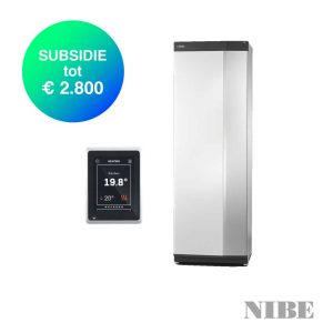 NIBE S-serie – S1255-6 PC – Water-water combi warmtepomp – 6,0 tot 8,0 kW