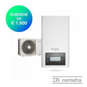 Remeha Elga Ace – Hybride Lucht-water warmtepomp – 4,0 kW