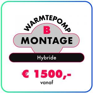Montage (Hybride Warmtepomp)